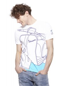70th Anniversary Vespa Young Collection Vespa GTS T-Shirt