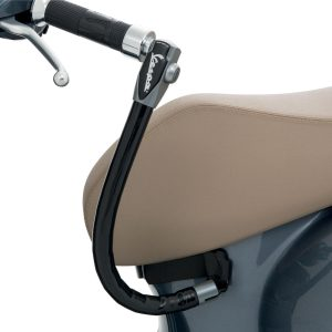 New Vespa Handlebar Lock for Simple Scooter Security