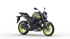 2018 Yamaha MT-03 in Night Fluo