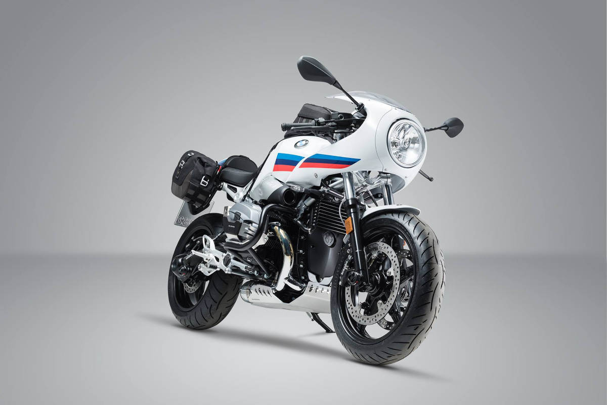 SW Motech products for the BMW R nineT Racer