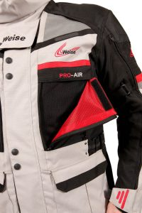 Weise Dakar Adventure Jacket Flap