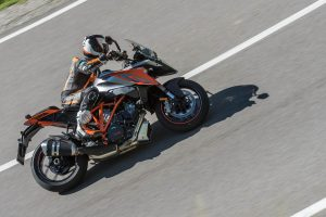 2017 KTM 1290 Super Duke GT Action