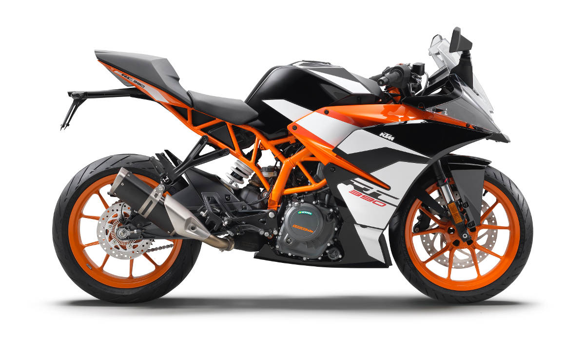 2017 KTM RC 390 90 Degrees