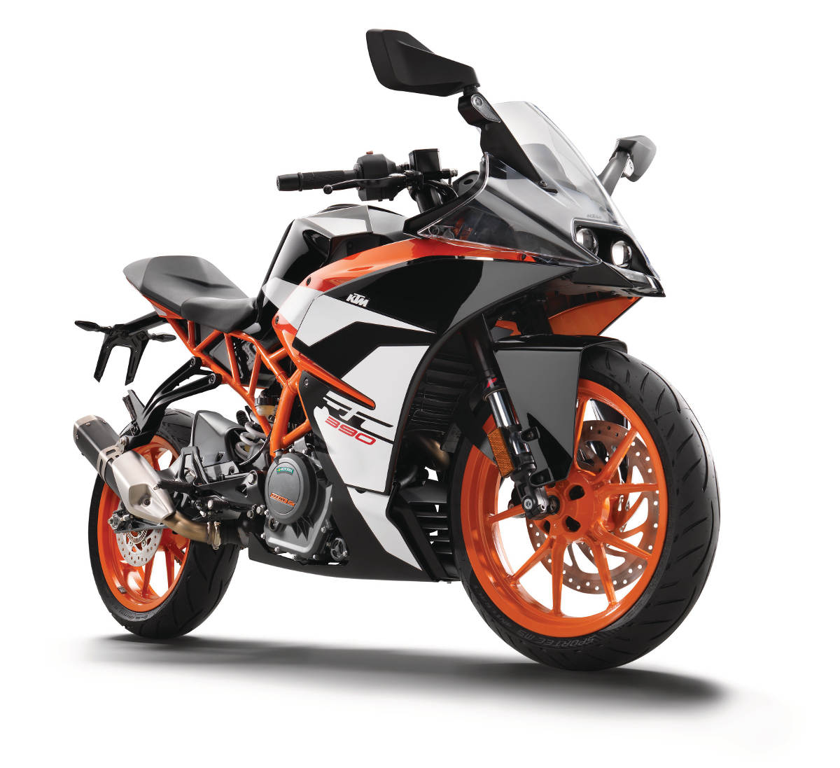 2017 KTM RC 390 Front Right