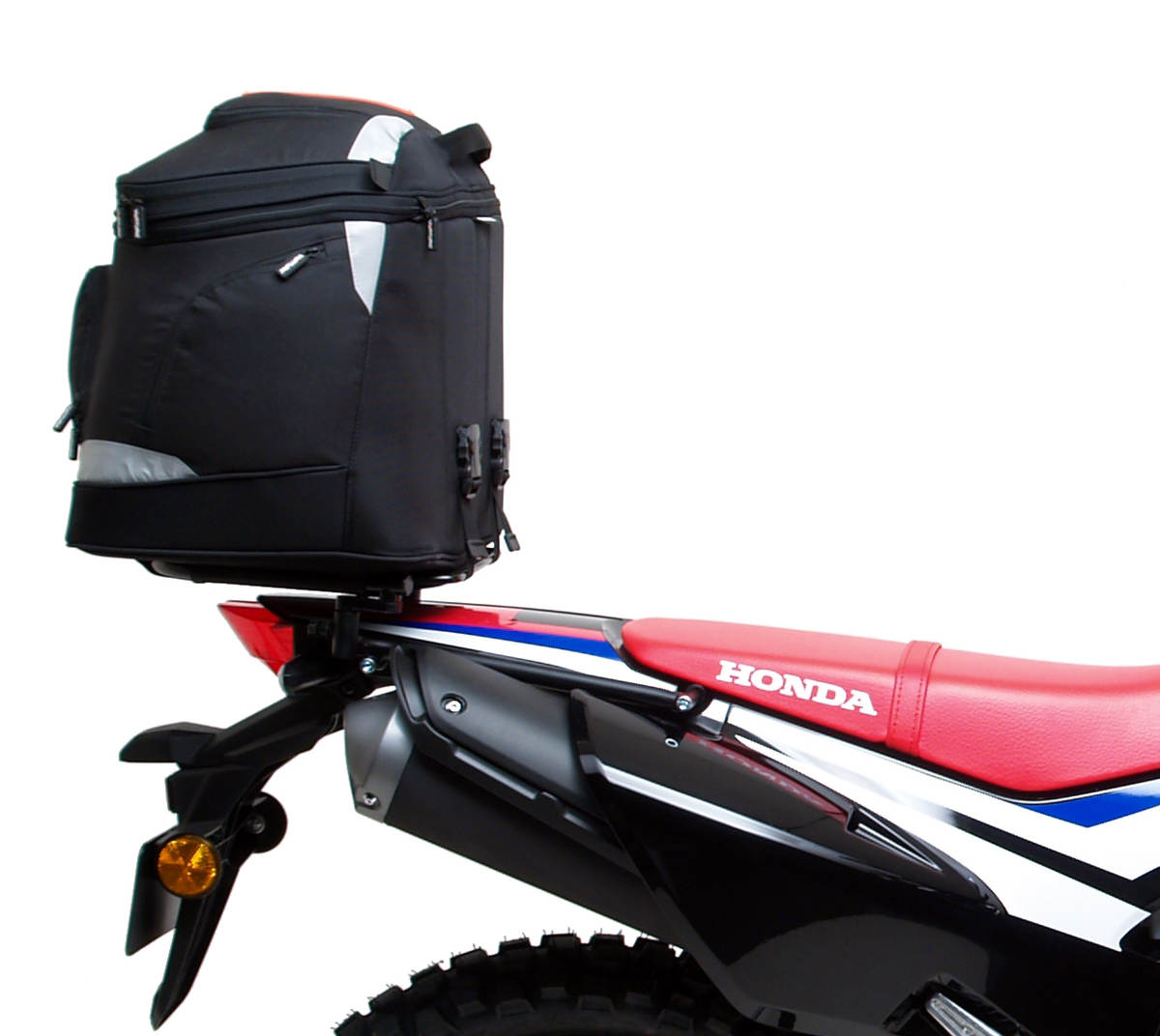 Honda CRF 250L Gets The Ventura Bike-Pack Luggage System for the Honda CRF 250 L fitted with the EVO-40 Pack