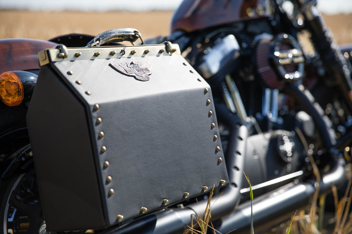 Captain Fawcett Custom Steampunk Harley-Davidson Sportster Forty-Eight (19)