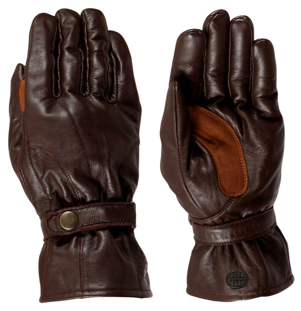 Weise Highway Motorcycle Gloves Brown