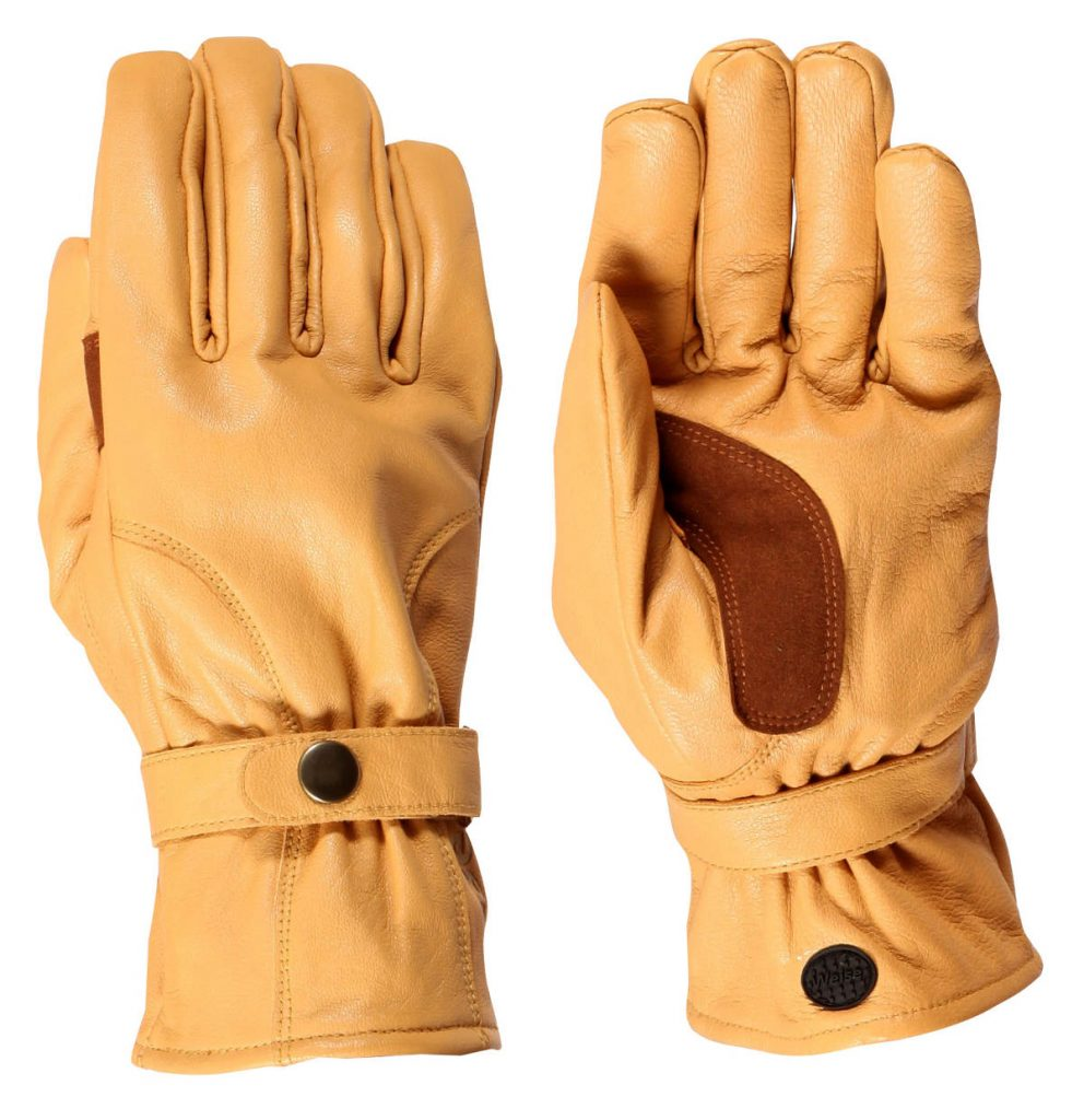Weise Highway Motorcycle Gloves Tan