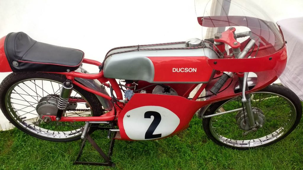 Sheene Special Ducson 50 ridden by Bill ivy