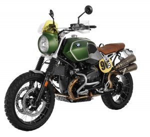The Wunderlich Green Hell ISDT Scrambler Kit for the BMW R nineT