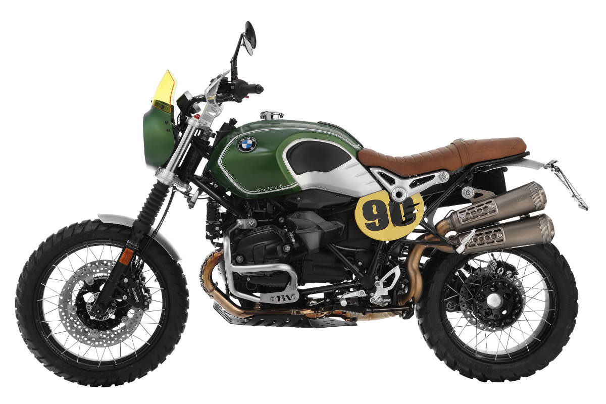 the wunderlich green hell isdt scrambler kit for the bmw r. Black Bedroom Furniture Sets. Home Design Ideas