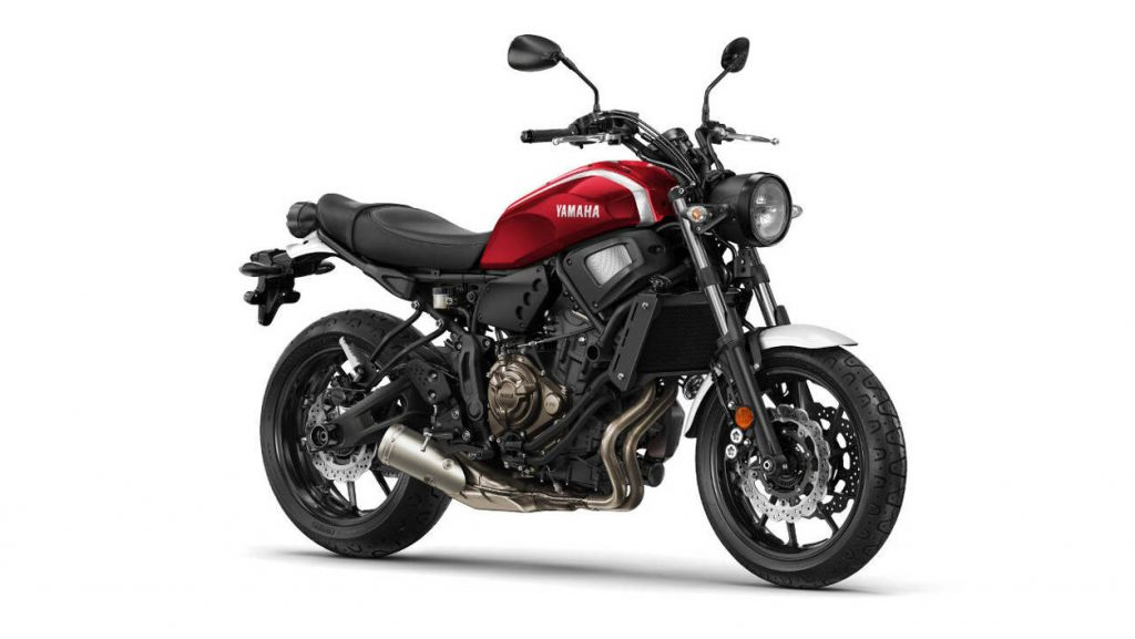2018 Yamaha XSR700 Brilliant Red