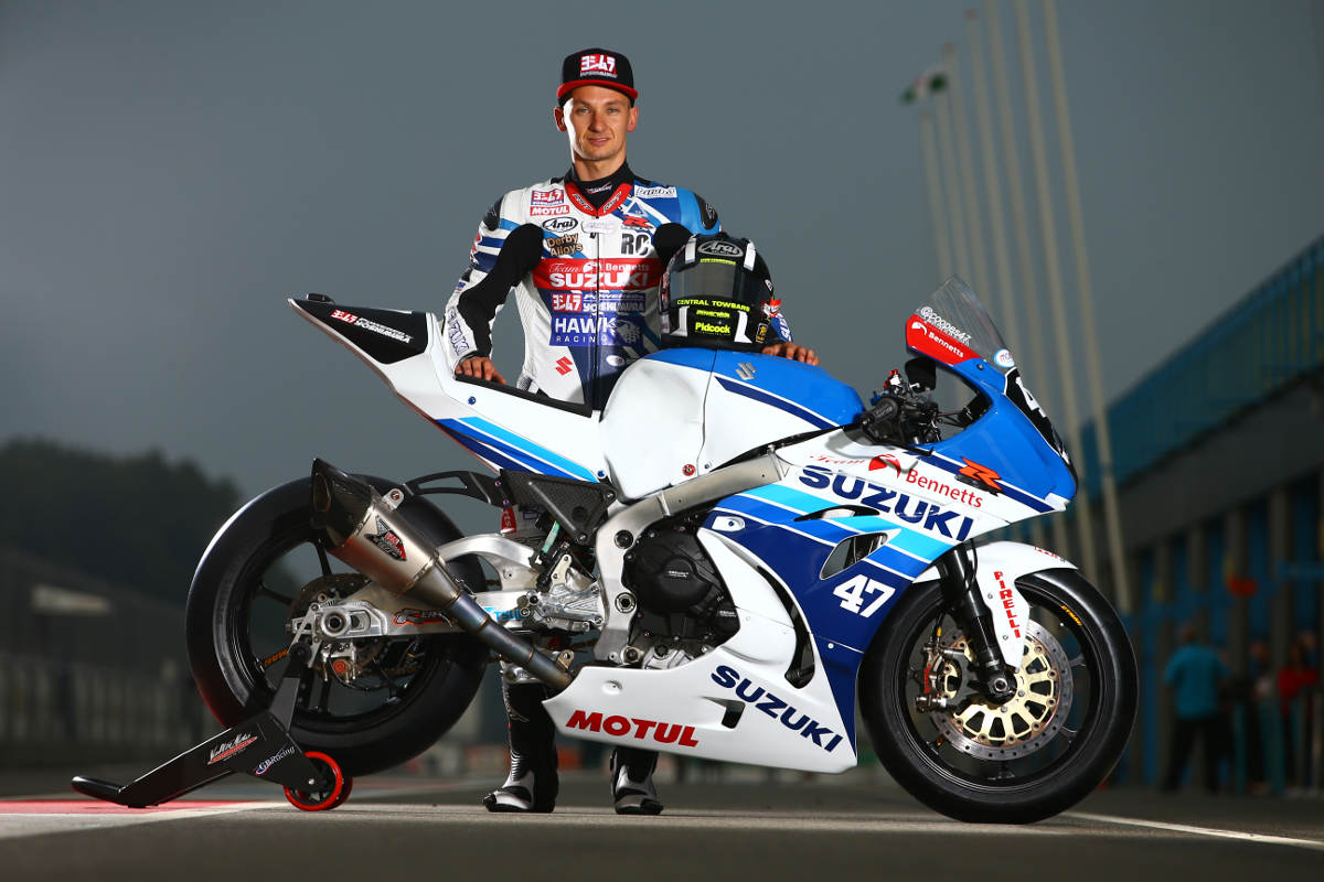 Cooper Racing Retro Livery Suzuki GSX-R1000 At Assen 2