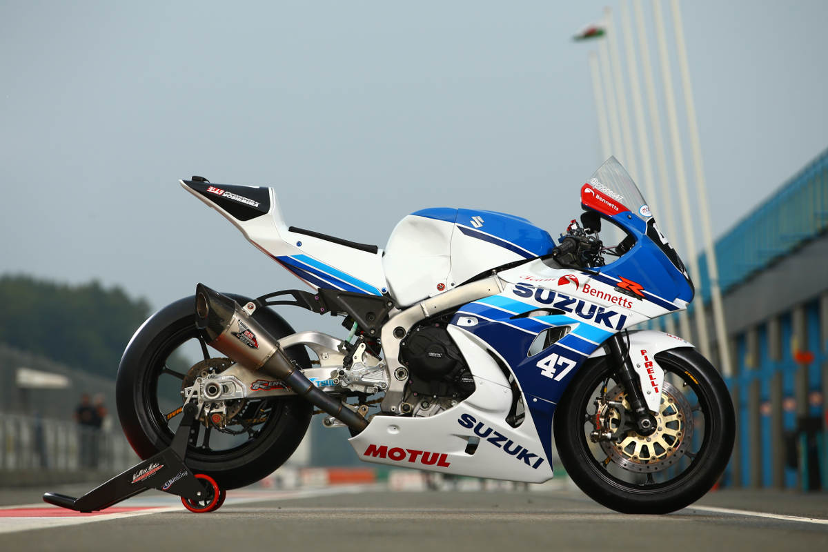 Cooper Racing Retro Livery Suzuki GSX-R1000 At Assen 3