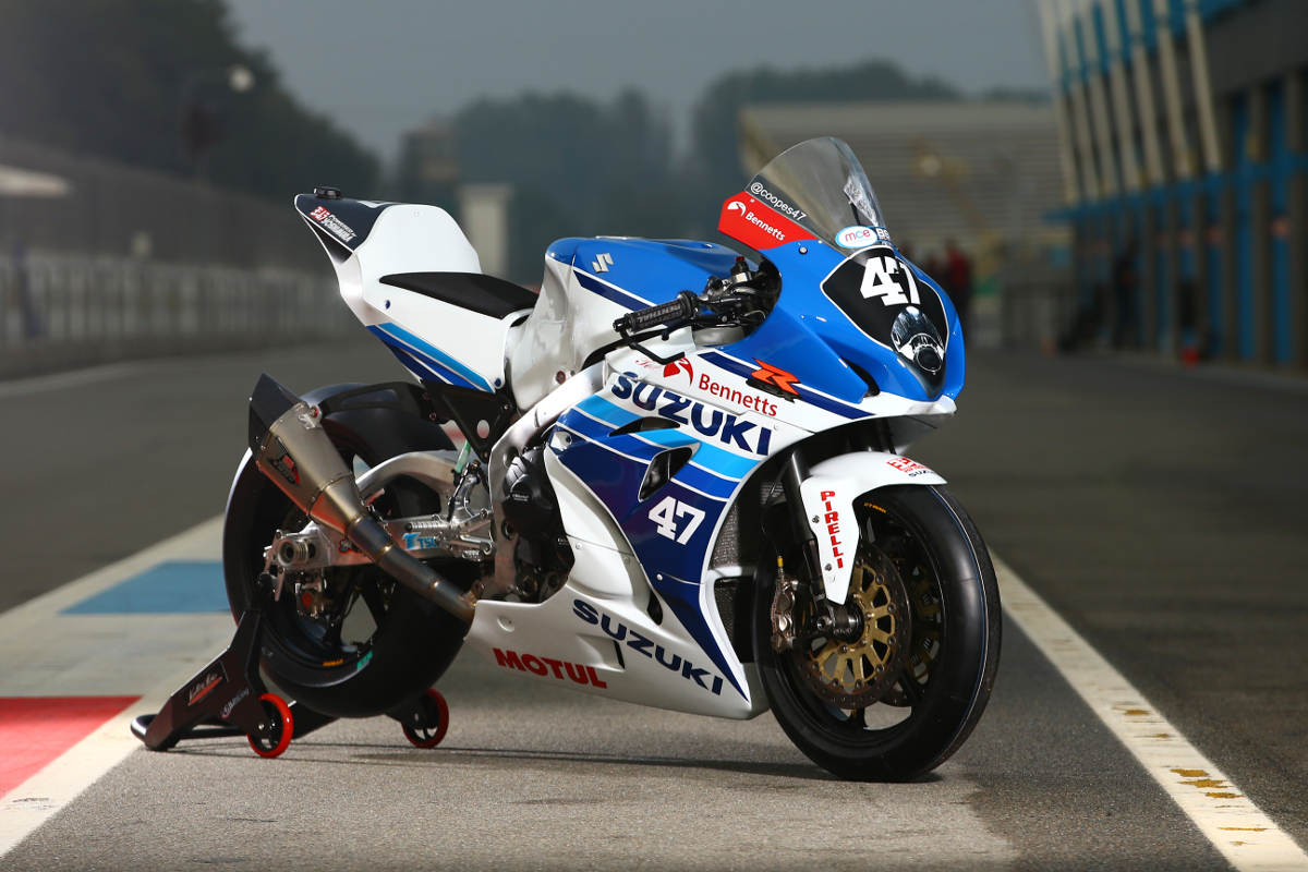 Richard Cooper Racing Retro-Themed GSX-R1000 at Assen BSB 2017