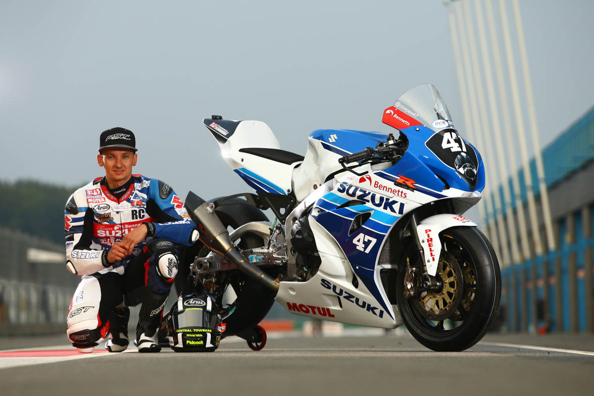 Cooper Racing Retro Livery Suzuki GSX-R1000 At Assen