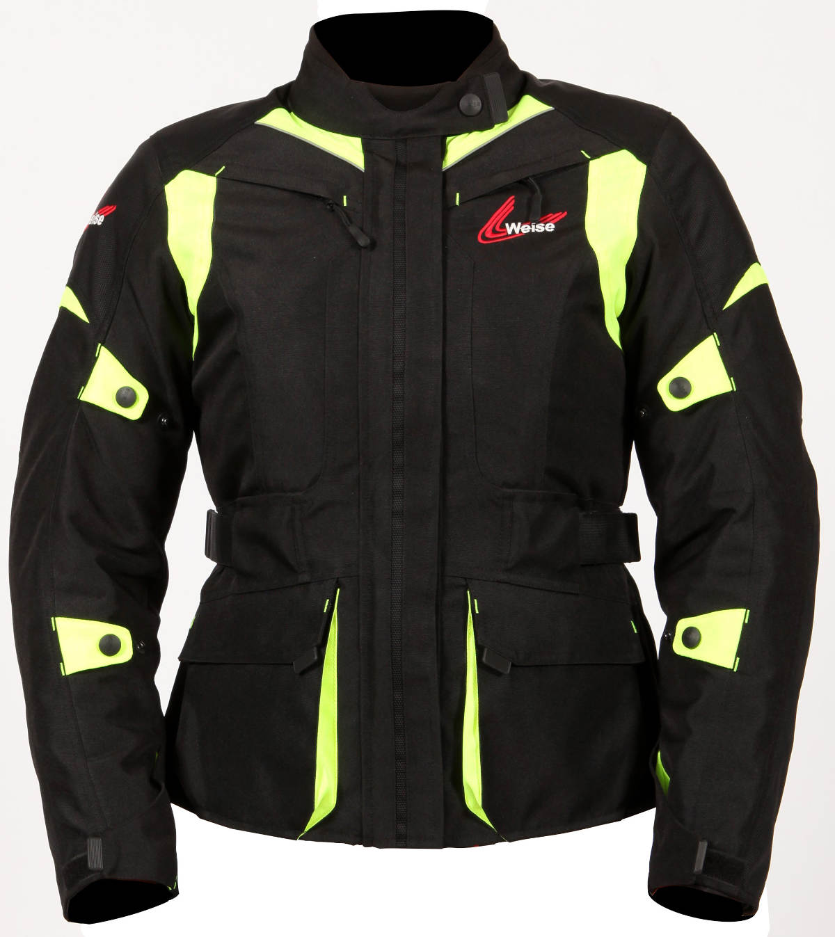 Weise Pioneer Textile Jacket Black Neon Yellow