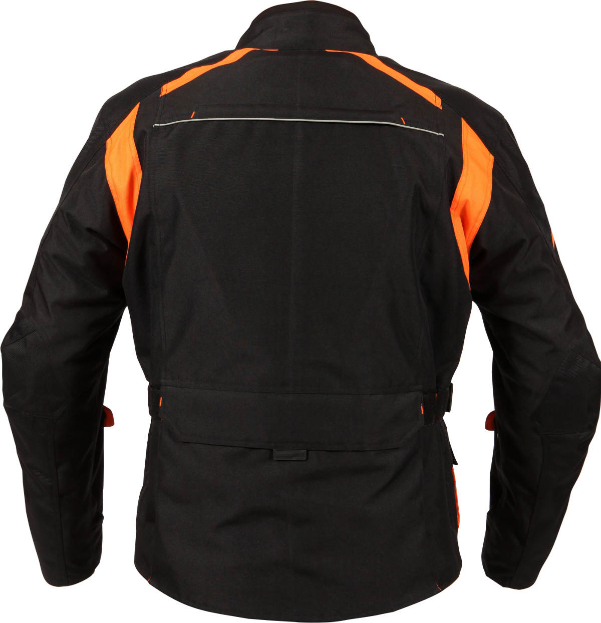 Weise Pioneer Textile Jacket Black Orange Back