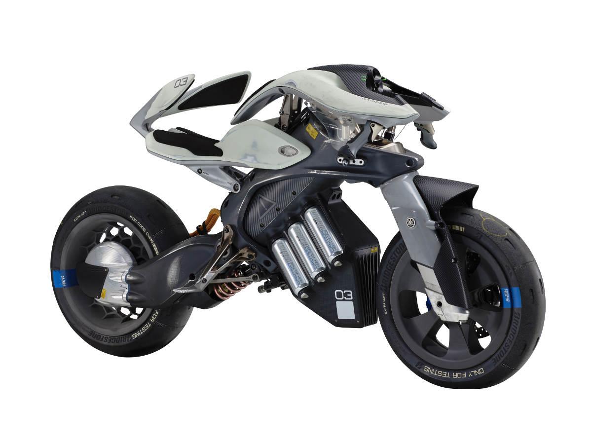 Yamaha MOTOROiD AI Motorcycle at the 2017 Tokyo Motor Show