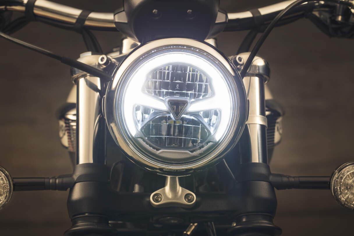 2018 Triumph Bonneville Speedmaster Headlight
