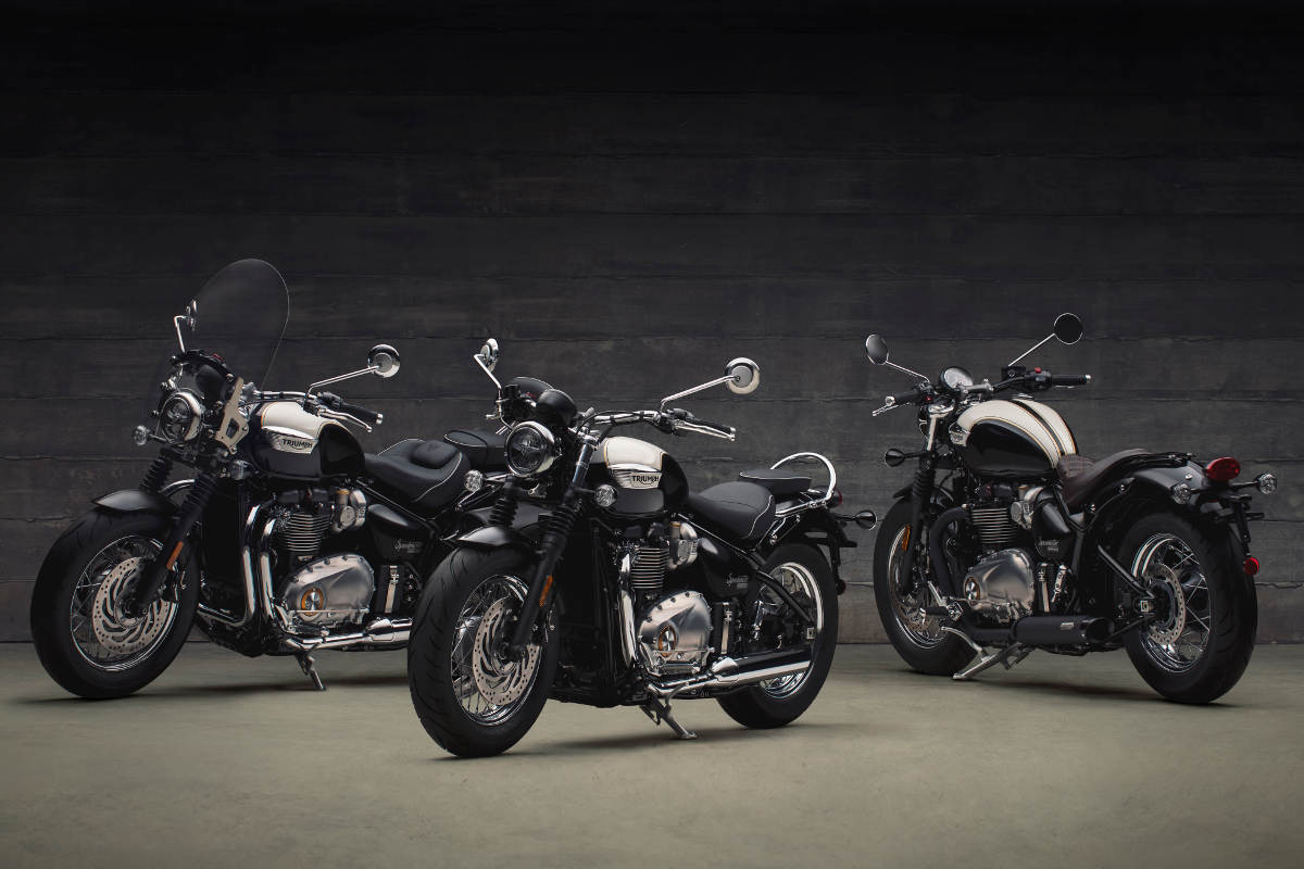 2018 Triumph Bonneville Speedmaster Group