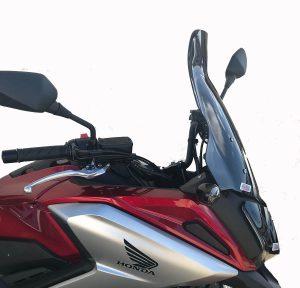 New Honda NC750X Hugger and Screen from Skidmarx