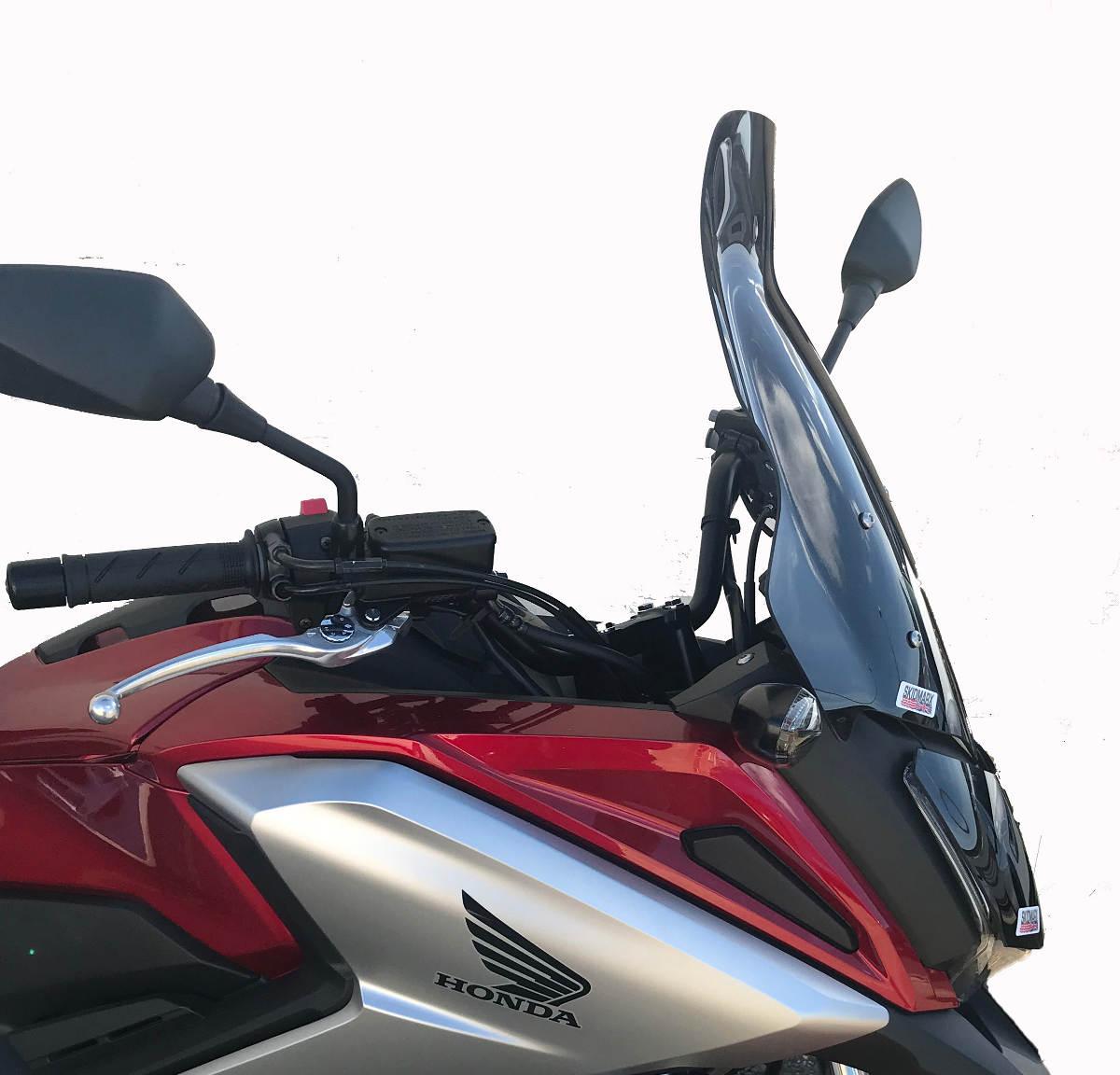 Honda NC750X Hugger and Screen from Skidmarx - Screen Detail