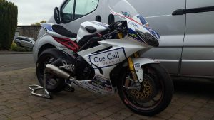 Joe Collier's British Supersport Triumph Daytona For Sale