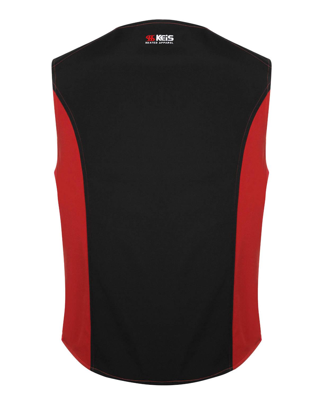 Keis Premium V501 Heated Vest Back