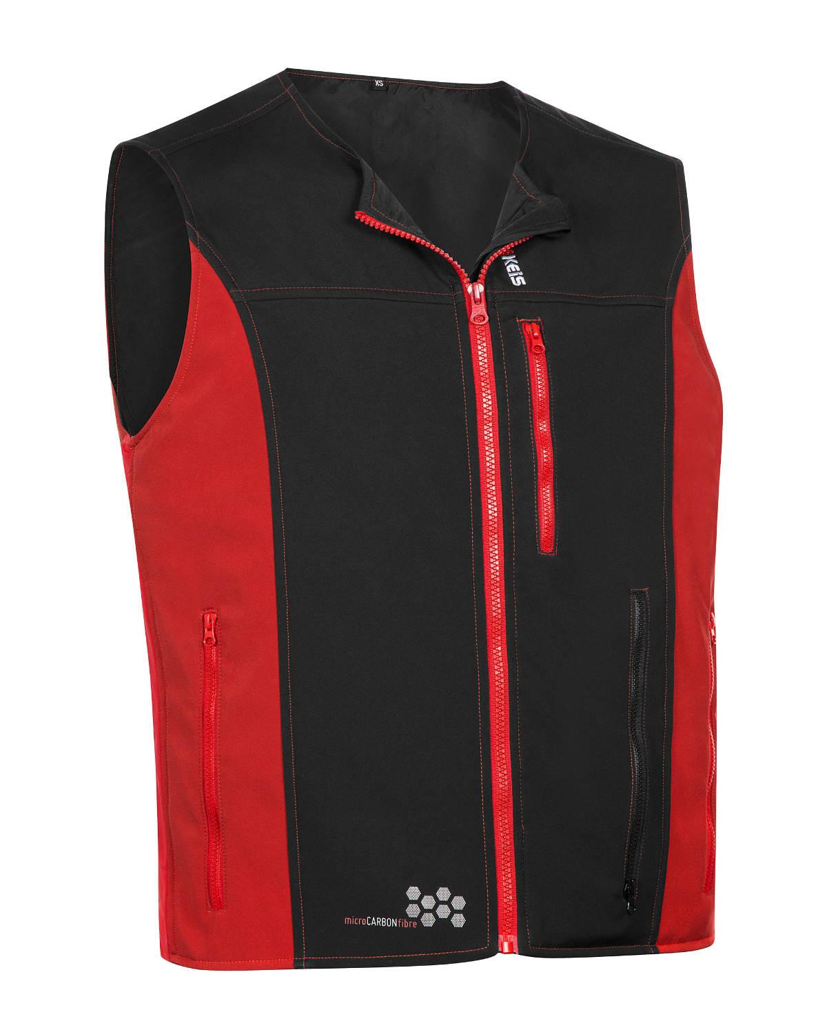 Keis Premium V501 Heated Vest Front 3Q