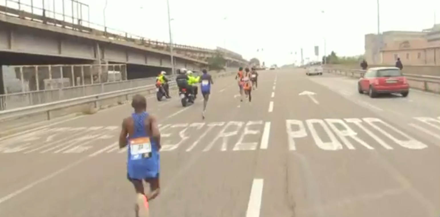 Motorcyclist Makes a Marathon Mistake