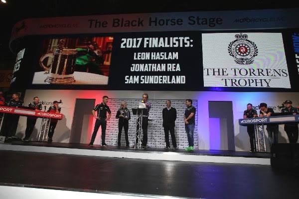 2017 Torrens Trophy: Rea, Haslam or Sunderland