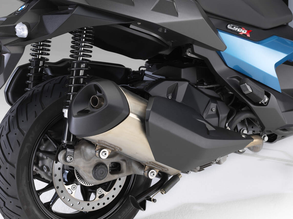 2018 BMW C 400 X Scooter Rear Suspension