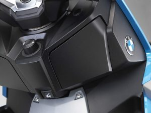 2018 BMW C 400 X Scooter Right Hand Storage Closed