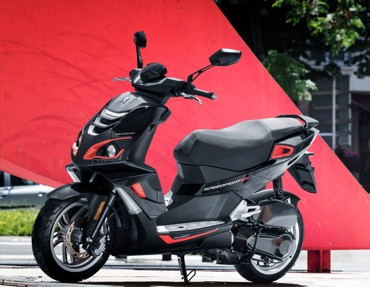2018 peugeot speedfight 125i 4th gen launched rescogs. Black Bedroom Furniture Sets. Home Design Ideas
