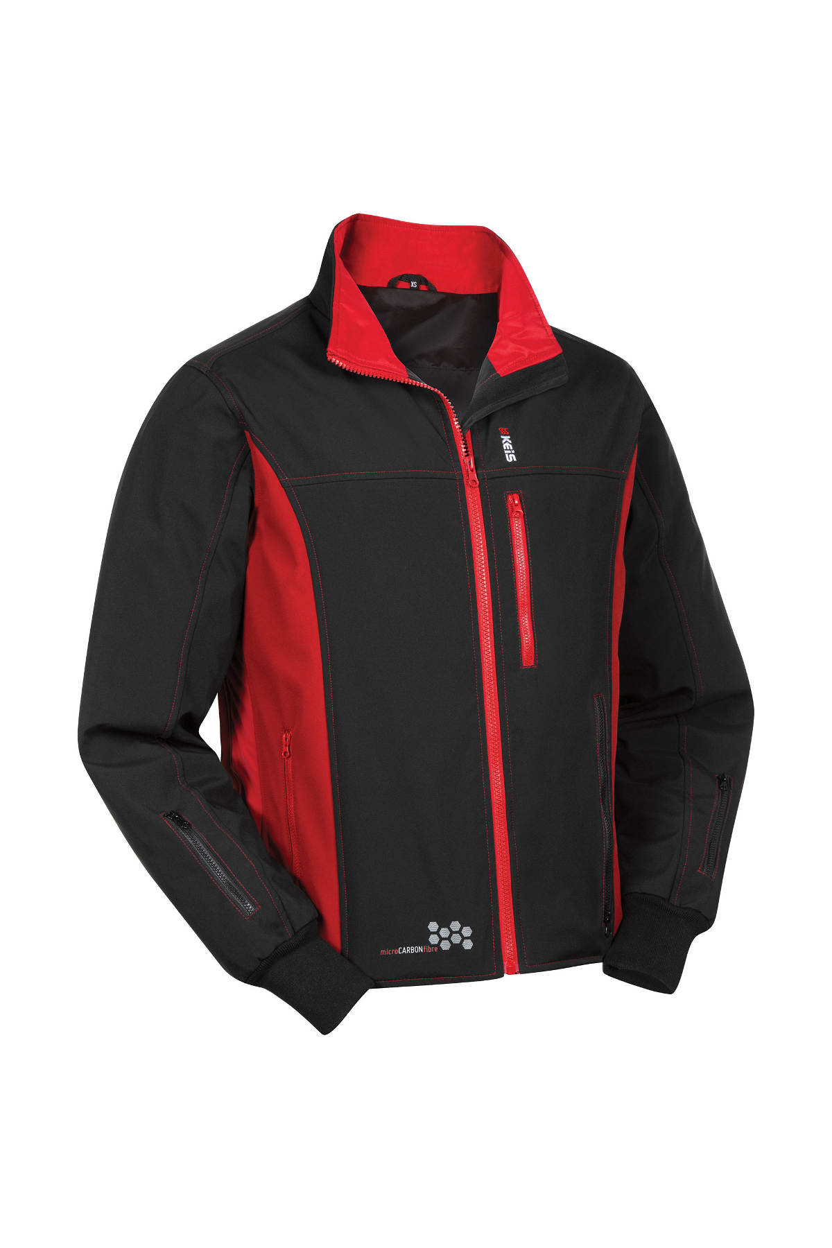 Keis Premium J501 Heated Jacket Angled