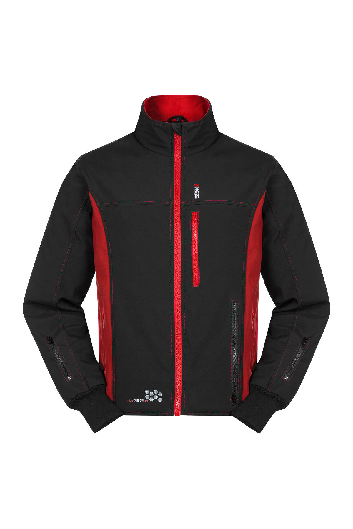 Keis Premium J501 Heated Jacket Front