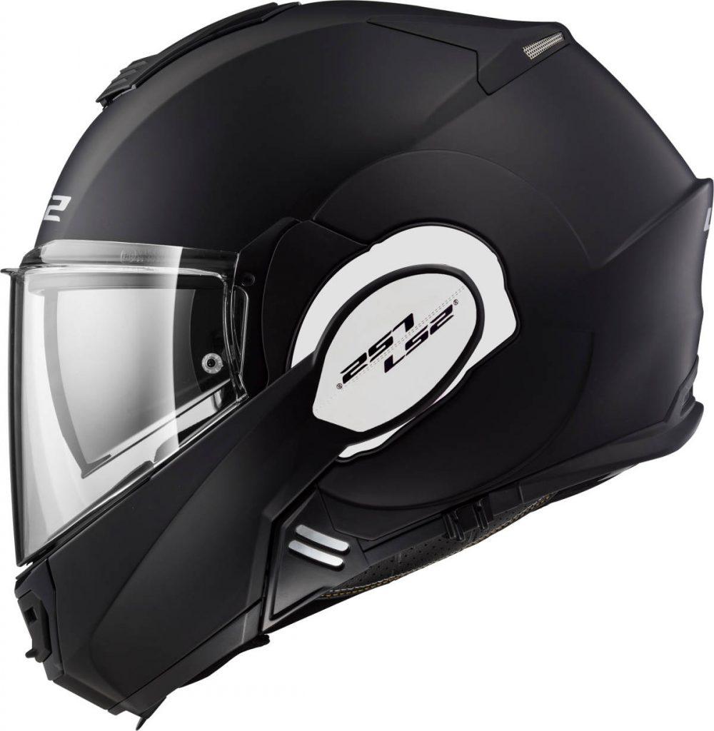LS2 Valiant 180 Flip-Front Motorcycle Helmet Closed