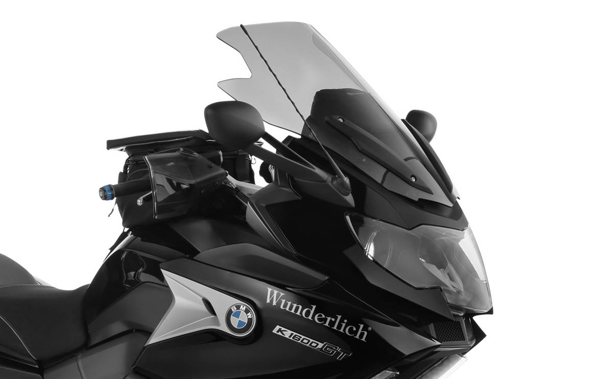 Larger Wunderlich Ergo Screen for the BMW K1600 Bagger Close Up