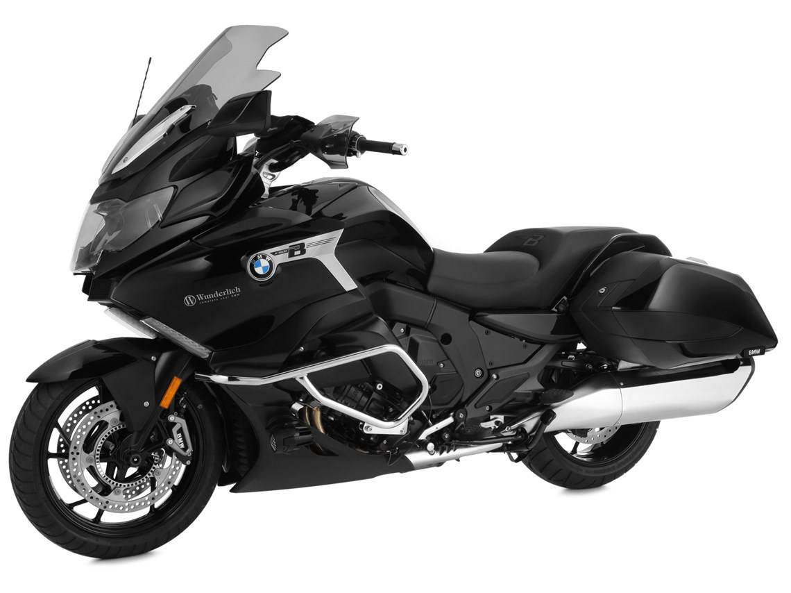 Larger Wunderlich Ergo 2 Screen for the BMW K1600 Bagger
