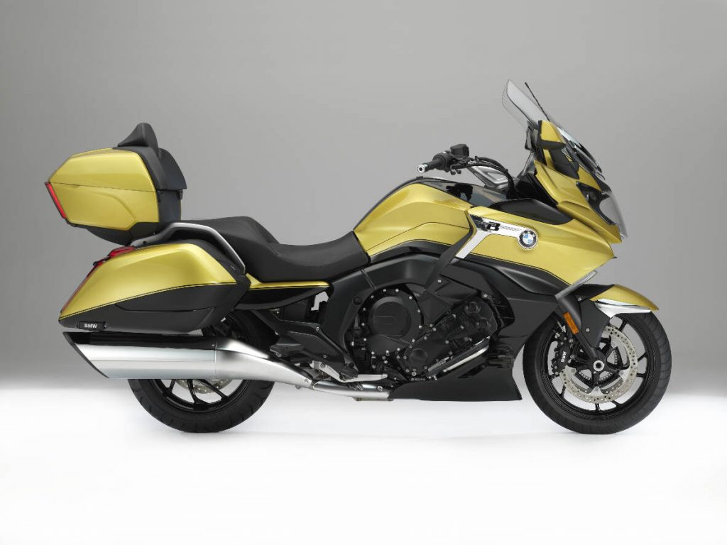 The 2018 BMW K 1600 Grand America Style Package Side