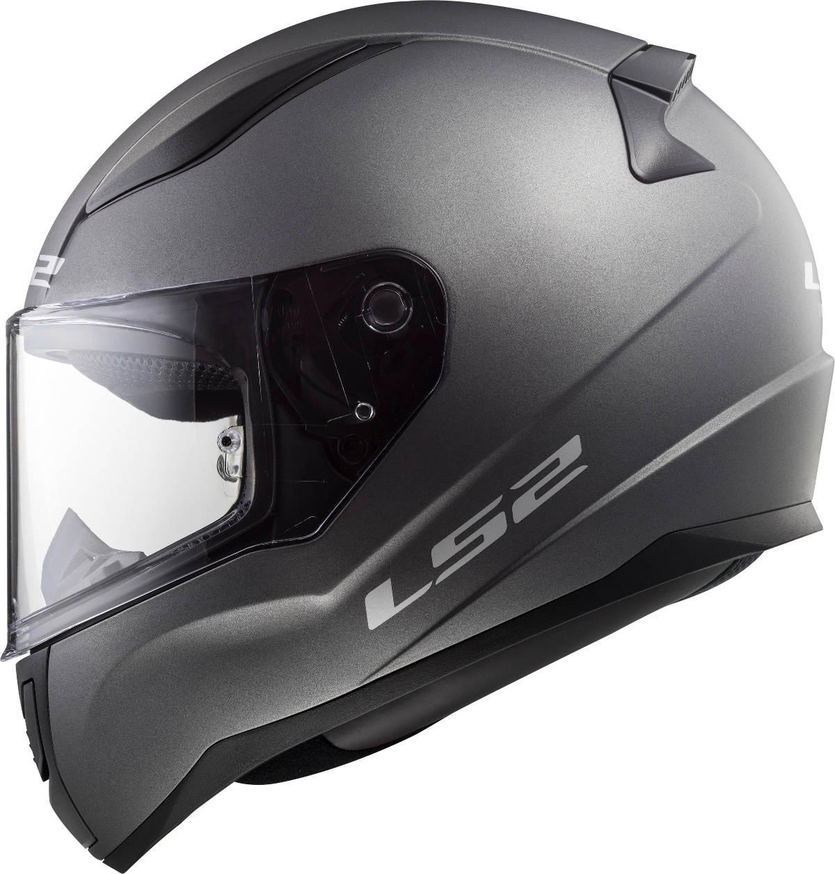 LS2 Rapid Motorcycle Helmet Solid Matt Titanium