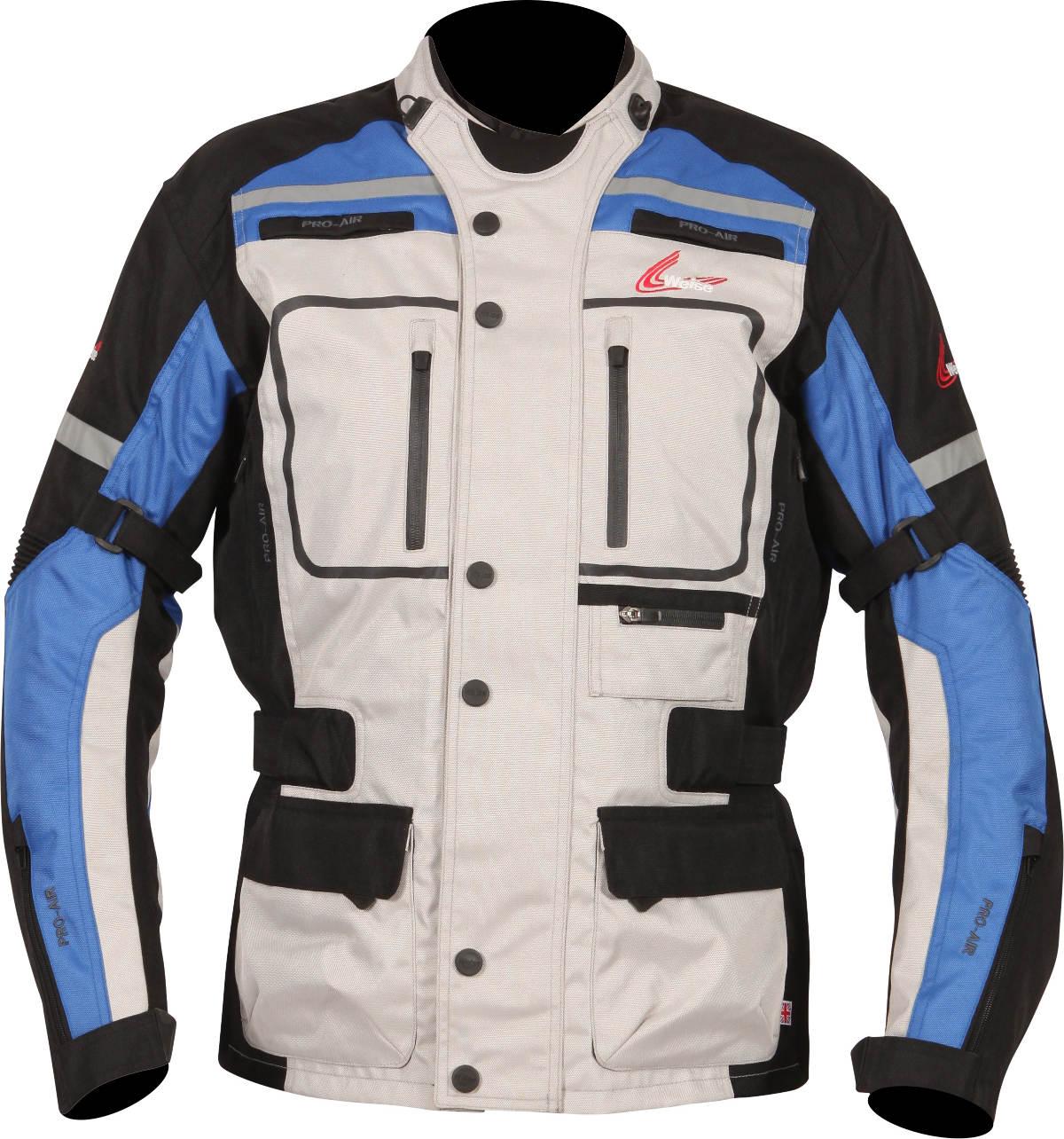 Weise Stuttgart textile Motorcycle Jacket Stone Blue
