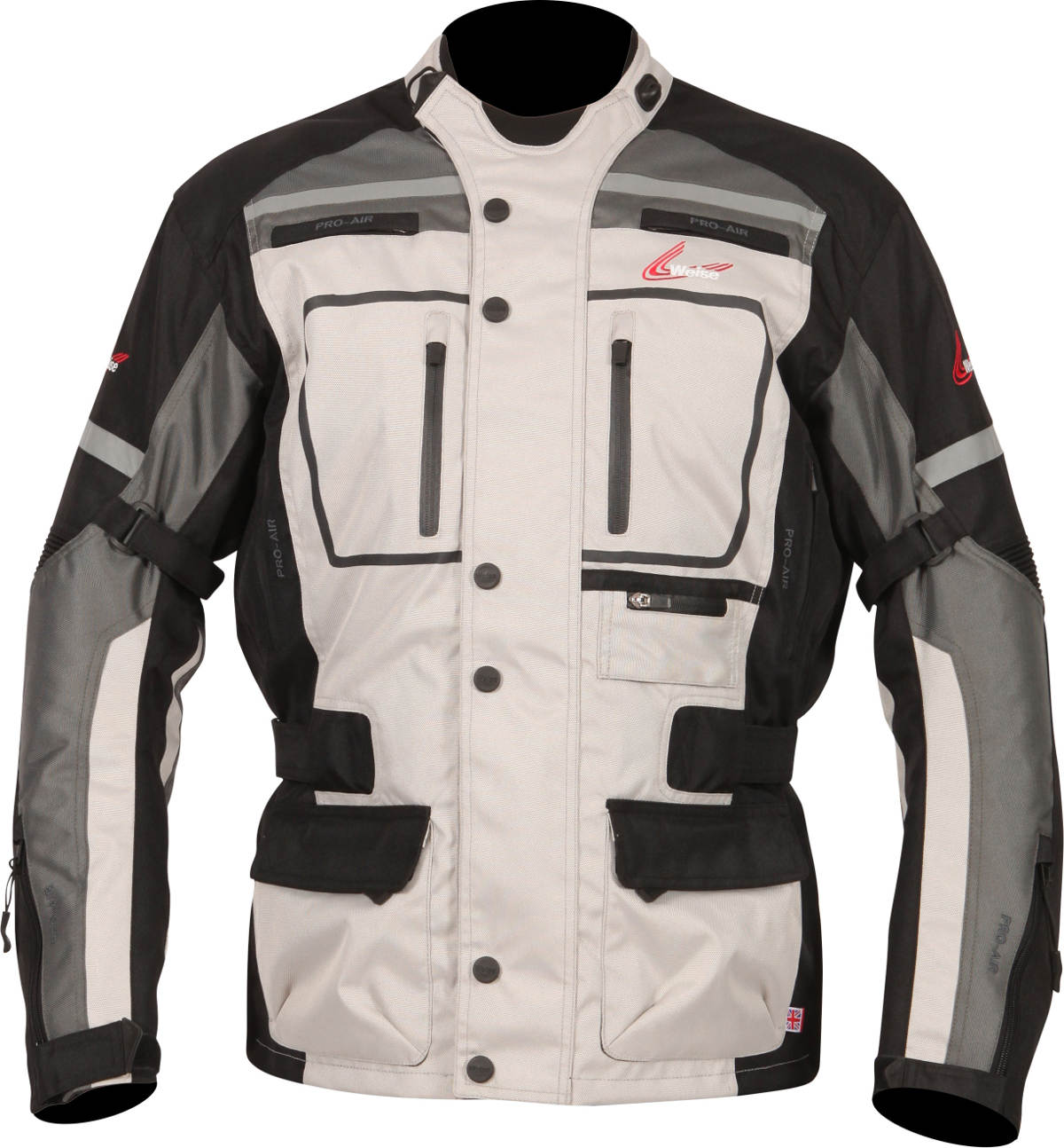 Weise Stuttgart textile Motorcycle Jacket Stone Gun