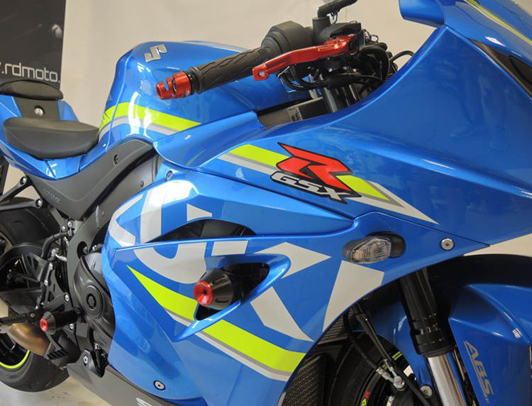 RDMOTO 2017 Suzuki GSX-R1000 Crash Protectors