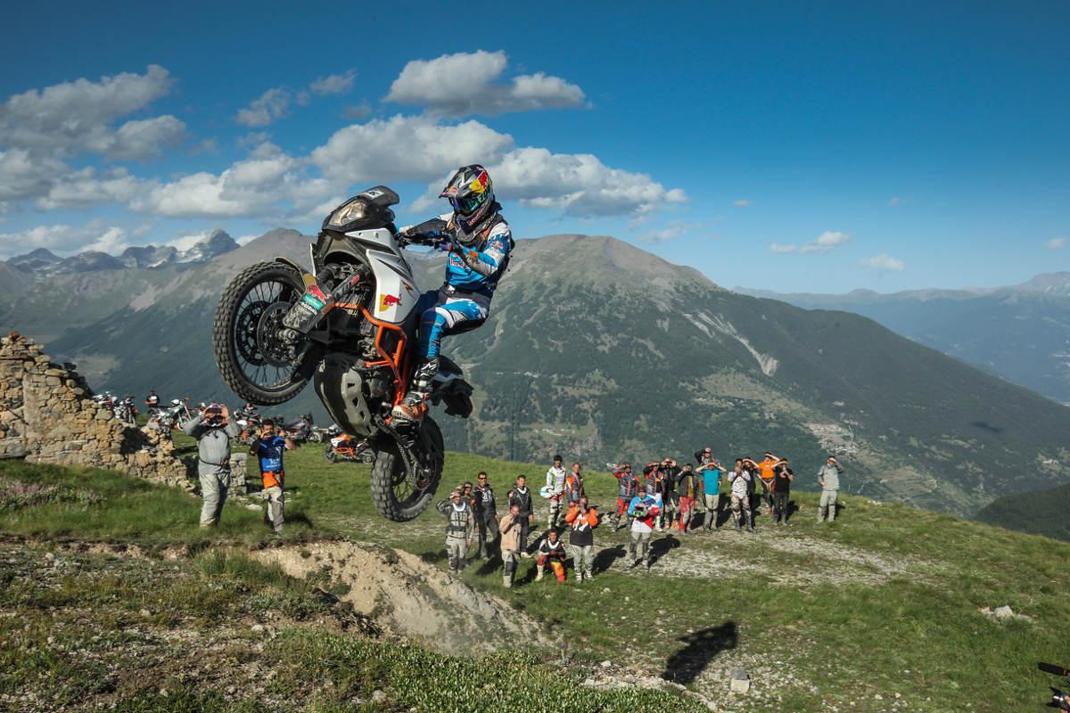 2018 KTM Adventure Rally Dates and Details Chris Birch Sardinia 2018 Jump