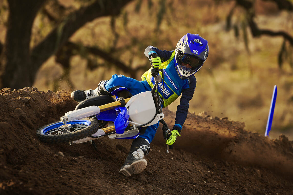 2018 Yamaha YZ65 Big Lean