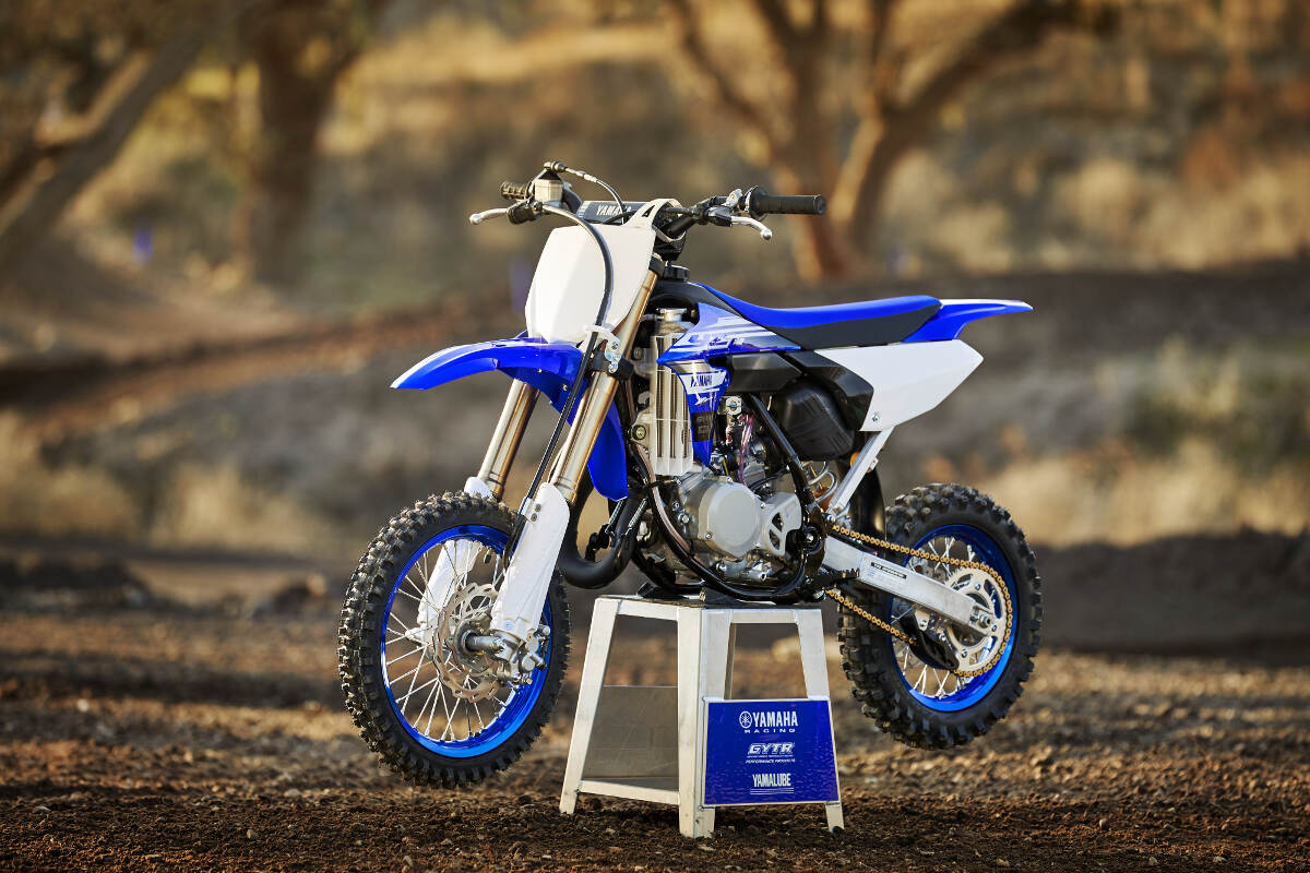 2018 Yamaha YZ65 Static Shot