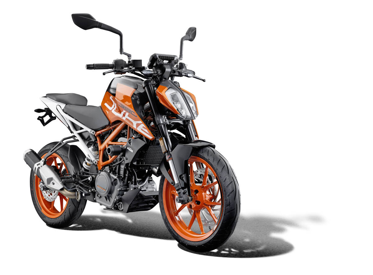 Evotech KTM 390 Duke Parts
