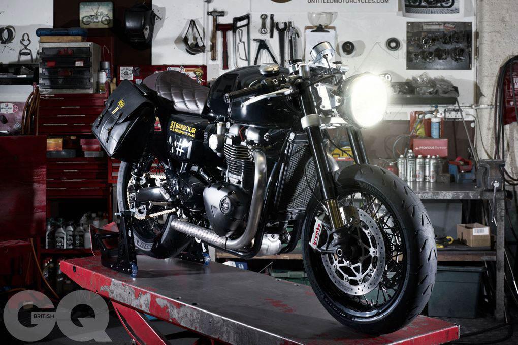 Custom Ultimate Gentleman's Triumph Thruxton R